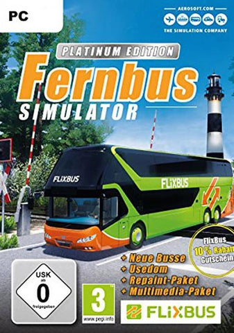 FERNBUS SIMULATOR (PLATINUM EDITION) - STEAM - MULTILANGUAGE - WORLDWIDE - PC Libelula Vesela