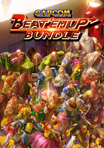 CAPCOM BEAT 'EM UP BUNDLE - STEAM - WORLDWIDE - MULTILANGUAGE - PC