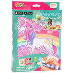PENAR ECHIPAT DRAW N'PLAY MAGICAL PONY, TIGER - SKCM18-C03