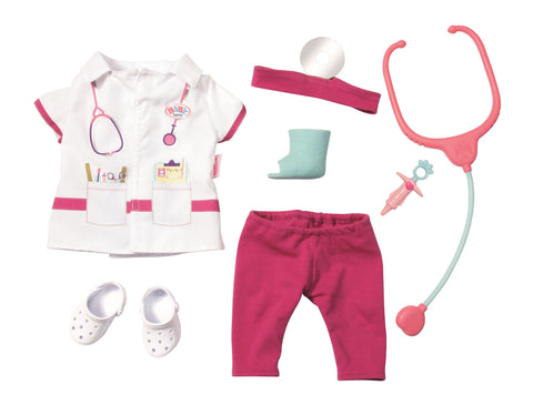 BABY BORN SET HAINUTE DOCTOR - ZAPF (ZF821077)