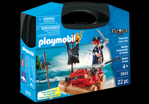 PLAYMOBIL - SET PORTABIL - PLUTA PIRATILOR (PM5655)