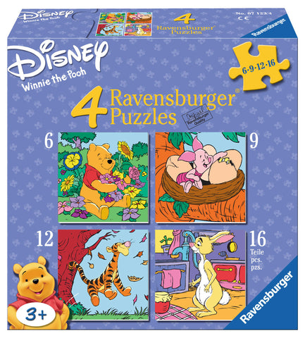 PUZZLE WINNIE THE POOH, 6/9/12/16 PIESE - RAVENSBURGER (RVSPC07123)