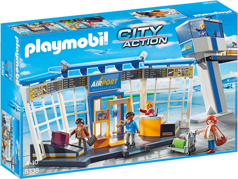 AEROPORT CU TURN DE CONTROL - PLAYMOBIL (PM5338)