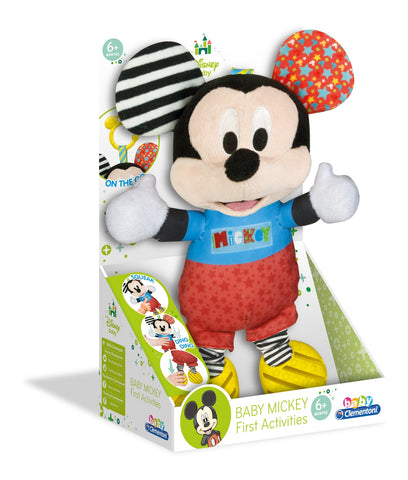ZORNAITOARE DE PLUS MICKEY MOUSE - CLEMENTONI (CL17165)