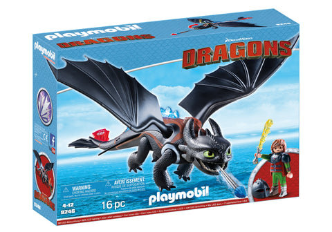 HICCUP SI TOOTHLESS - PLAYMOBIL (PM9246)