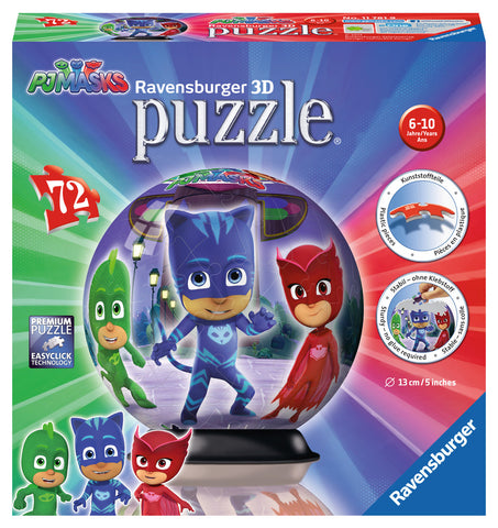 PUZZLE 3D EROI IN PIJAMALE MOTIV 1 - RAVENSBURGER (RVS3D11781)