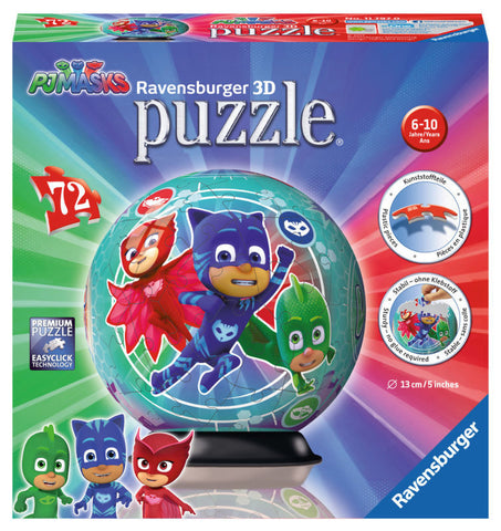 PUZZLE 3D EROI IN PIJAMALE MOTIV 2 - RAVENSBURGER (RVS3D11797)