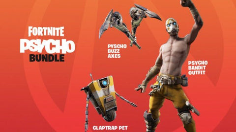 FORTNITE - PSYCHO BUNDLE - EPIC STORE - MULTILANGUAGE - WORLDWIDE - PC