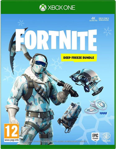 FORTNITE DEEP FREEZE BUNDLE - XBOX ONE - XBOX LIVE - WORLDWIDE - MULTILANGUAGE Libelula Vesela Jocuri video
