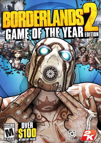 BORDERLANDS 2 (GOTY) EU - STEAM - MULTILANGUAGE - EU - PC