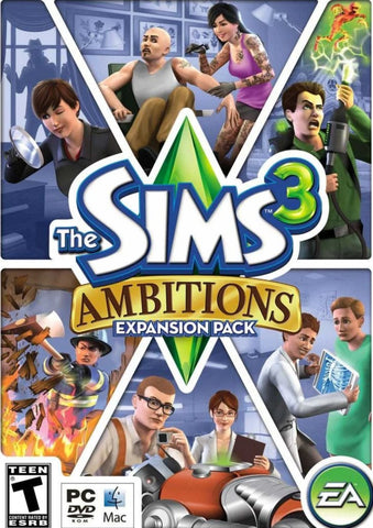 THE SIMS 3 - AMBITIONS EXPANSION PACK - ORIGIN - MULTILANGUAGE - EU - PC Libelula Vesela