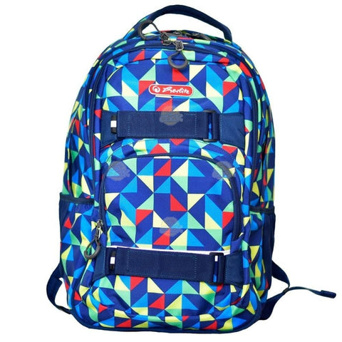 RUCSAC ERGONOMIC SKATER COLORFUL HARLEQUIN - HERLITZ (9481480)