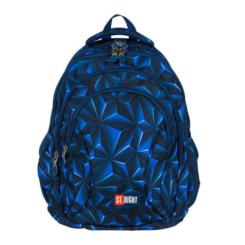 RUCSAC ERGONOMIC ST.RIGHT 3D NAVY ABSTRACTION - ST.MAJEWSKY (MJ101152)