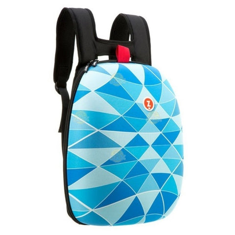 RUCSAC ZIP..IT SHELL TRIUNGHIURI ALBASTRE - ZP-ZSHL-BT