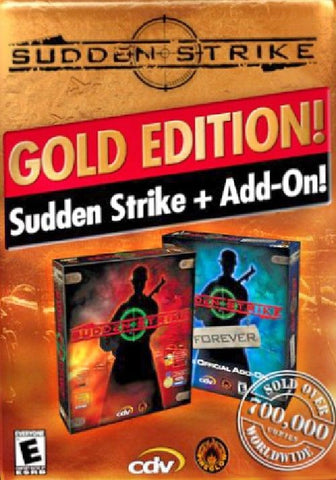 SUDDEN STRIKE GOLD - STEAM - PC - WORLDWIDE