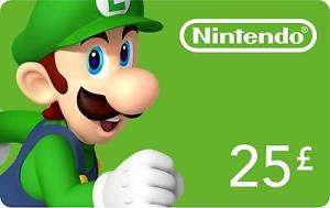 NINTENDO ESHOP £25 - OFFICIAL WEBSITE - PC - EU