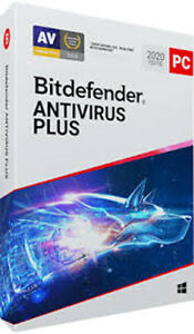 BITDEFENDER ANTIVIRUS PLUS 2020 (3 DEVICES, 2 YEARS) - OFFICIAL WEBSITE - MULTILANGUAGE - WORLDWIDE - PC