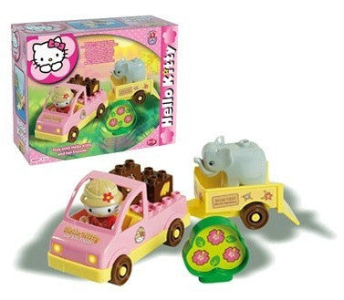 SET CONSTRUCTIE UNICO PLUS HELLO KITTY MINI SAFARI - ANDRONI GIOCATTOLI (UN8657)
