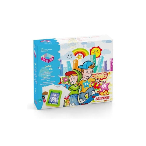 SET CREATIVITATE ALPINO ARTKID GRAFITTI CITY - MS-AK000003 Libelula Vesela Jucarii
