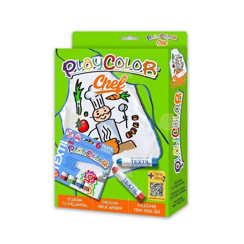 SET CREATIVITATE CHEF - PLAYCOLOR (INS11401)