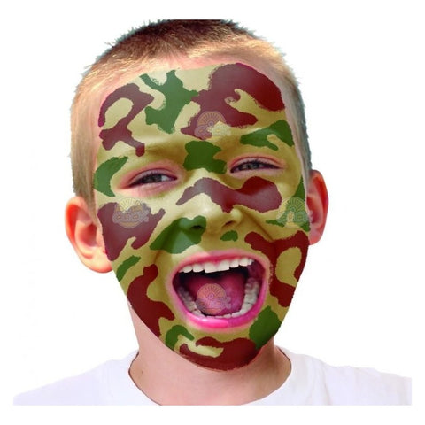 SET MAKE UP + TEXTIL CAMOUFLAGE, INSTANT - PLAYCOLOR (INS58040)