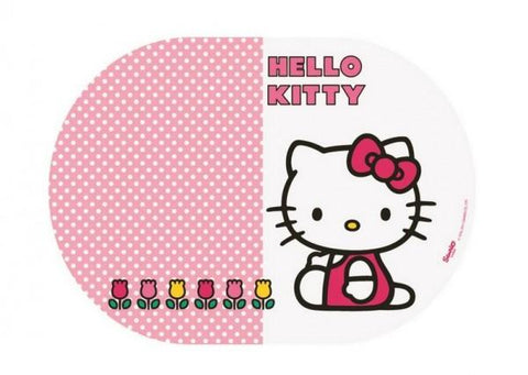 SUPORT FARFURII OVAL, HELLO KITTY, 35X25CM - BBS (BBS118794)
