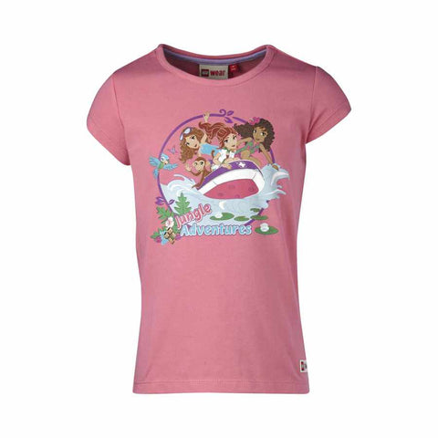 TRICOU LEGO FRIENDS JUNGLE, MARIME 110 - LEGO (17048-463-110)