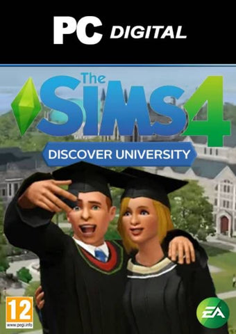 THE SIMS 4: DISCOVER UNIVERSITY - ORIGIN - WORLDWIDE - MULTILANGUAGE - PC