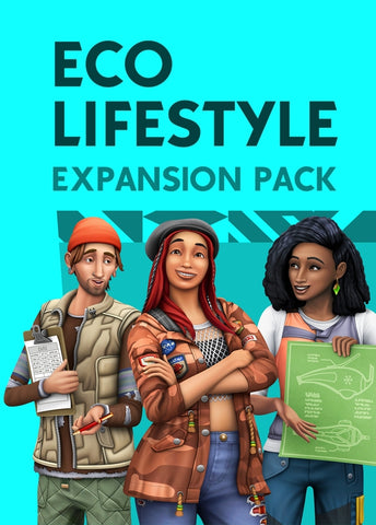 THE SIMS 4: ECO LIFESTYLE - ORIGIN - MULTILANGUAGE - WORLDWIDE - PC / MAC Libelula Vesela