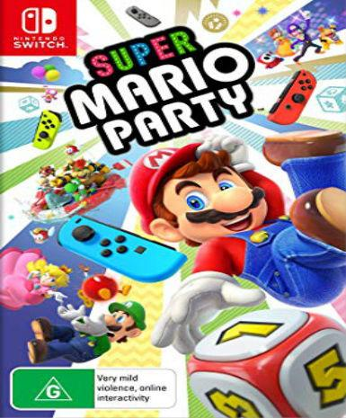 SUPER MARIO PARTY - NINTENDO SWITCH - MULTILANGUAGE - EU - PC