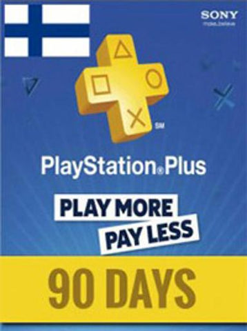PLAYSTATION NETWORK CARD (PSN) 90 DAYS (FINLAND) - PLAYSTATION - EU