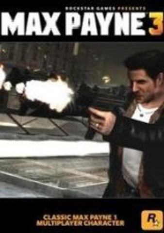MAX PAYNE 3 - CLASSIC MAX PAYNE CHARACTER (DLC) - STEAM - PC