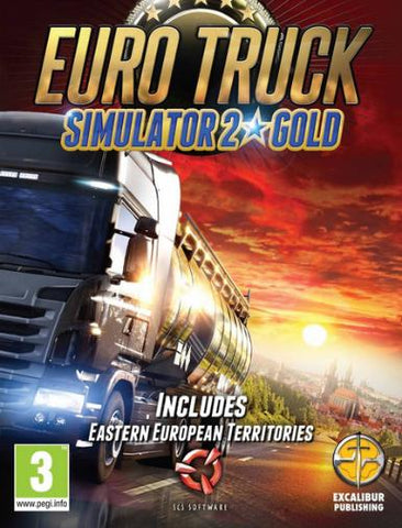 EURO TRUCK SIMULATOR 2 GOLD EDITION - STEAM - PC - WORLDWIDE