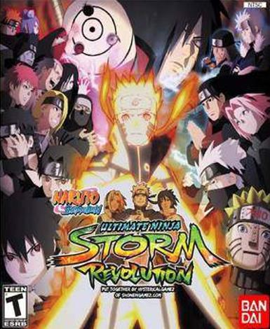 NARUTO SHIPPUDEN: ULTIMATE NINJA STORM REVOLUTION - STEAM - PC - EMEA