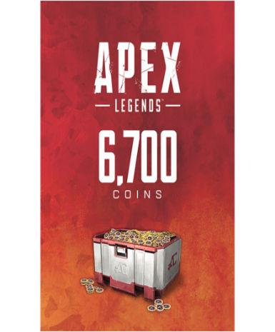 APEX LEGENDSU2122 - 6700 APEX COINS - ORIGIN - PC - WORLDWIDE