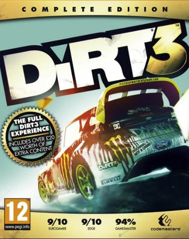 DIRT 3 COMPLETE EDTITION - STEAM - PC - WORLDWIDE