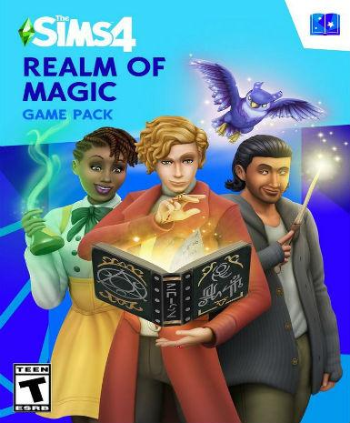 THE SIMS 4: REALM OF MAGIC - ORIGIN - WORLDWIDE - MULTILANGUAGE - PC