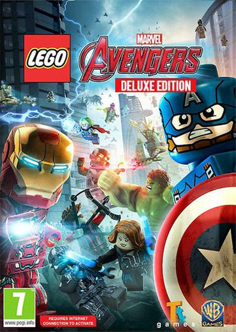 LEGO: MARVEL'S AVENGERS - DELUXE EDITION - STEAM - PC - WORLDWIDE