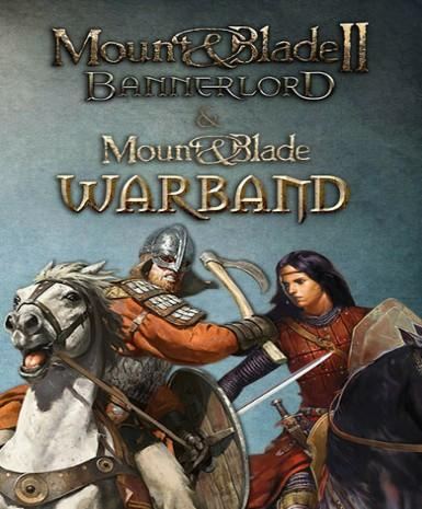 MOUNT & BLADE II: BANNERLORD + MOUNT & BLADE: WARBAND BUNDLE (THE WARLORD PACKAGE) - STEAM - PC - EMEA / US - EN Libelula Vesela Jocuri video