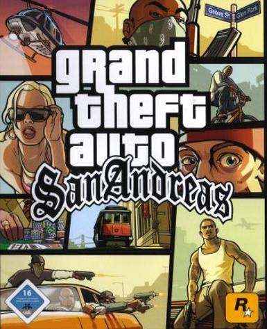 GRAND THEFT AUTO: SAN ANDREAS - STEAM - PC
