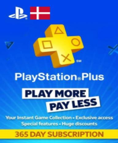 PLAYSTATION NETWORK CARD (PSN) 365 DAYS (DENMARK) - PLAYSTATION - EU