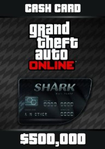GRAND THEFT AUTO V GTA: BULL SHARK CASH CARD - ROCKSTAR SOCIAL CLUB