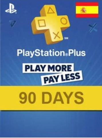PLAYSTATION NETWORK CARD (PSN) 90 DAYS (SPAIN) - PLAYSTATION - EU