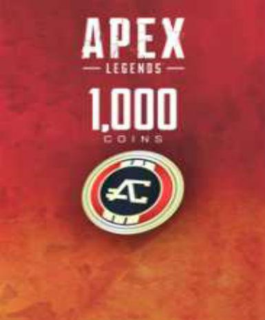 APEX LEGENDSU2122 - 1000 APEX COINS - ORIGIN - PC - WORLDWIDE