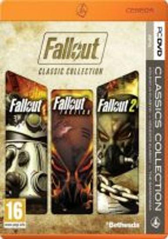 FALLOUT CLASSIC COLLECTION EU - STEAM - EU - MULTILANGUAGE - PC Libelula Vesela