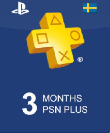 PLAYSTATION NETWORK CARD (PSN) 90 DAYS (SWEDEN) - PLAYSTATION - EU