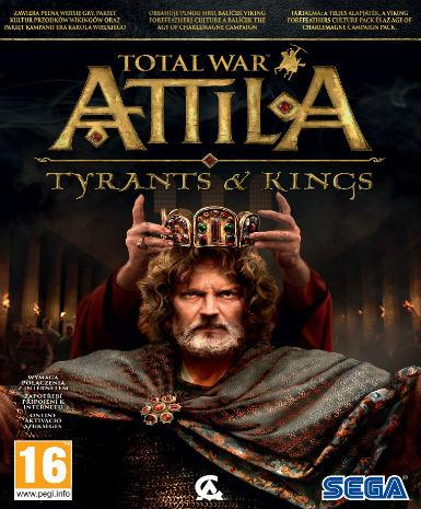 TOTAL WAR: ATTILA - TYRANTS AND KINGS EDITION - STEAM - PC - EMEA, EU, PL, US