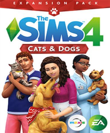 THE SIMS 4: CATS & DOGS - ORIGIN - PC / MAC - WORLDWIDE