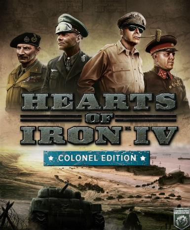 HEARTS OF IRON IV (COLONEL EDITION) CUT - STEAM - PC