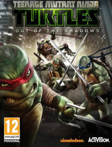 TEENAGE MUTANT NINJA TURTLES: OUT OF THE SHADOWS - STEAM - PC - WORLDWIDE